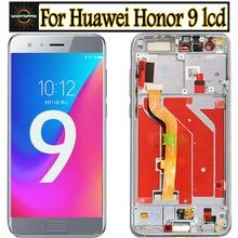 ЖК дисплей в сборе для Huawei Honor 9, ЖК дисплей с рамкой для Huawei Honor 9