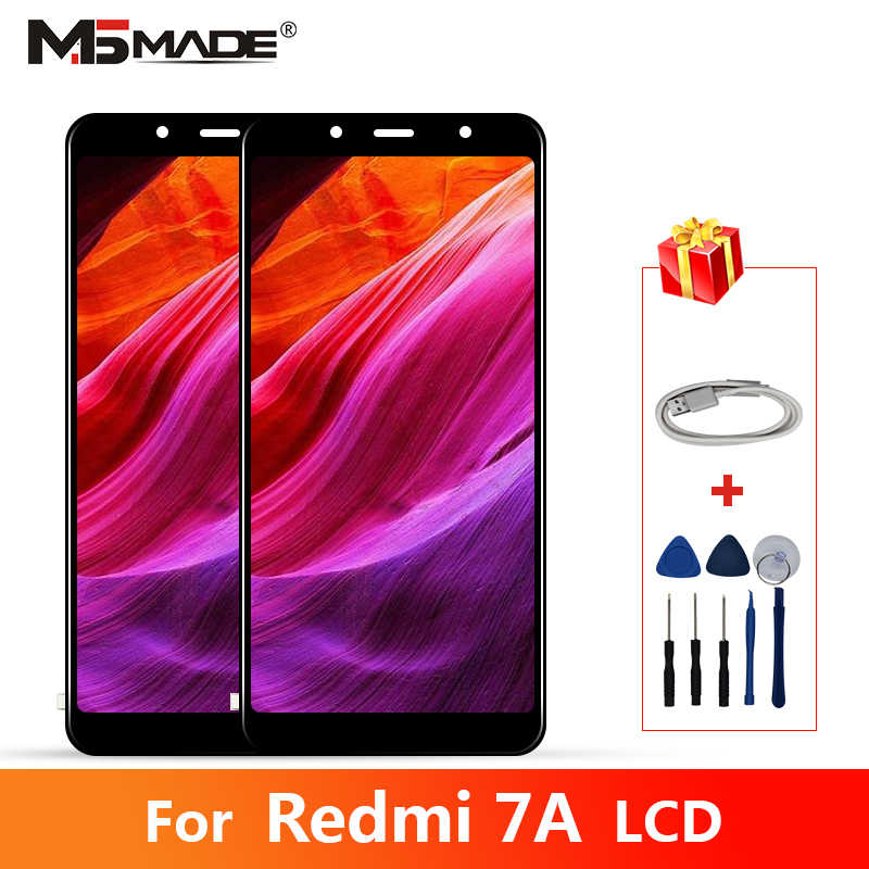"5,45 ""Original Für Xiaomi Redmi 7A Display LCD Touch Screen Digitizer Montage 10 Touch Screen Ersatz Mit Rahmen Reparatur teile"