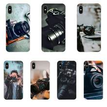 Photographer Camera Lens For Xiaomi Redmi Mi 4 7A 9T K20 CC9 CC9e Note 7 8 9 Y3 SE Pro Prime Go Play Back Cases Shockproof(China)
