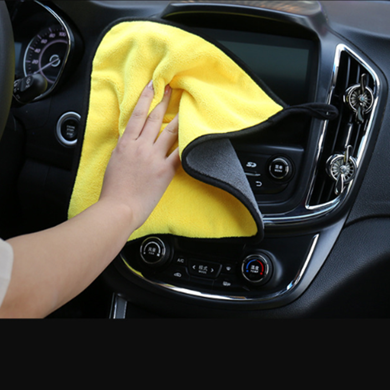 Hot car wash microfiber towel FOR nissan qashqai volkswagen golf 4 <font><b>volvo</b></font> v40 bmw e39 opel corsa d mercedes w203 vw golf 5 image