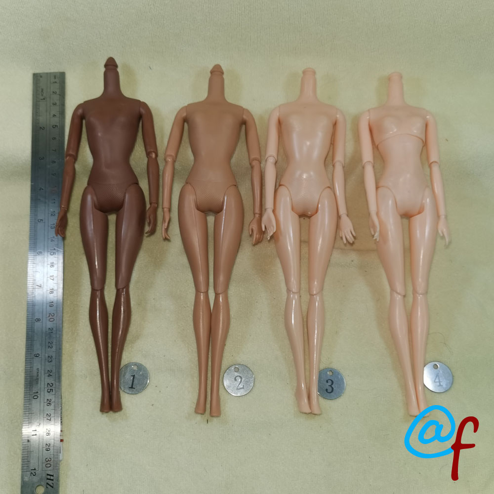 27cm Doll Nude Body Joints Doll Naked Body Moveable 1/6 Doll Body And Shoes Girls Toys
