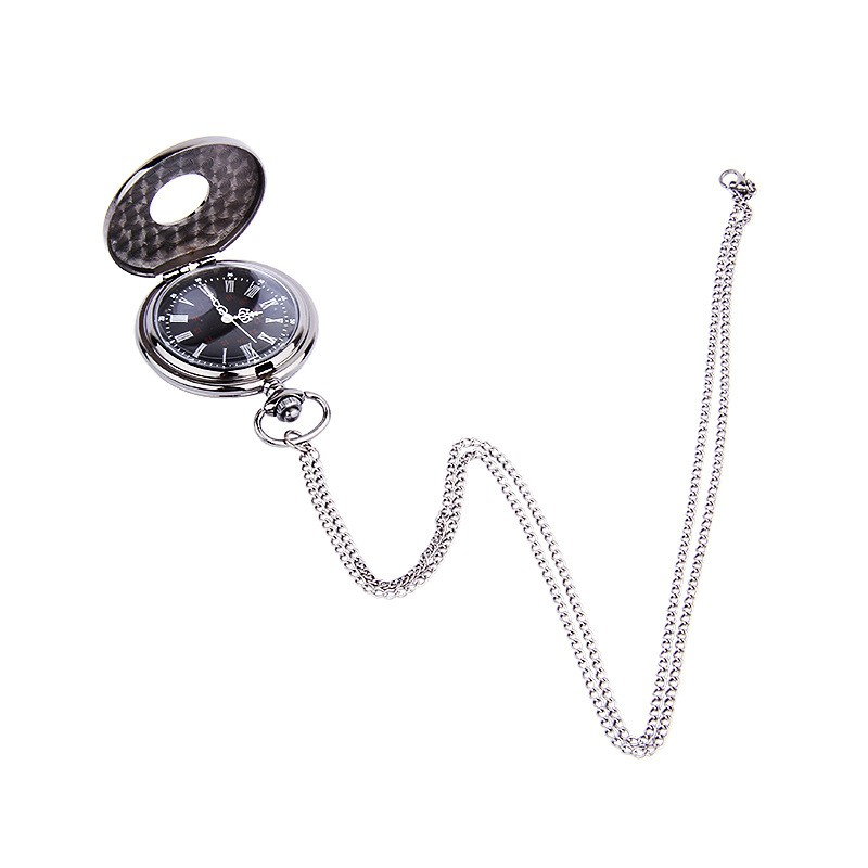 DUOBLA Men Pocket Watches Brand Luxury Retro Romantic Double Display Quartz Watch Men Waterproof Alloy Dial Relogio Masculino