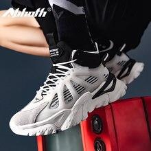 Мужские кроссовки для бега abhoth высокие Нескользящие дышащие