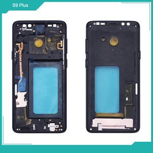 Image 2 - Netcosy Samsung S8 G950 S8 artı G955 orta çerçeve plaka çerçeve muhafazası kapağı için Replacemenrt Samsung S9 G960 S9 artı G965