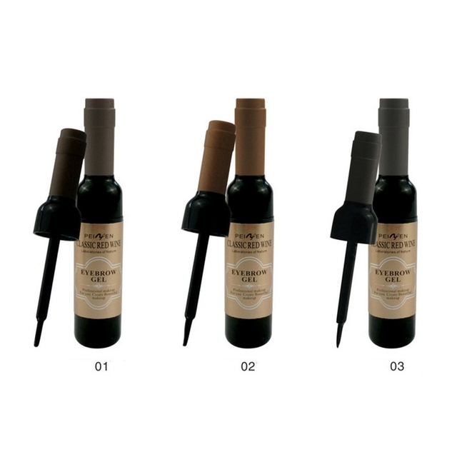 Classic  Eyebrow Gel Cream  Red Wine Tearing Eyebrow Gel Dyeing Eyebrow Cream Waterproof Anti-staining Lasting Makeup Enhancer 3