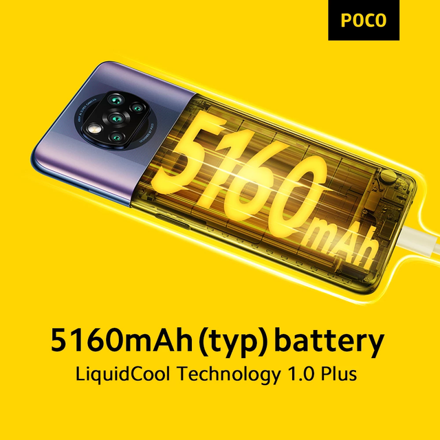 POCO X3 Pro NFC Global Version 6GB 128GB / 8GB 256GB Smartphone Snapdragon 860 120Hz 48MP AI Camera 5160 Battery 33w Charging 5