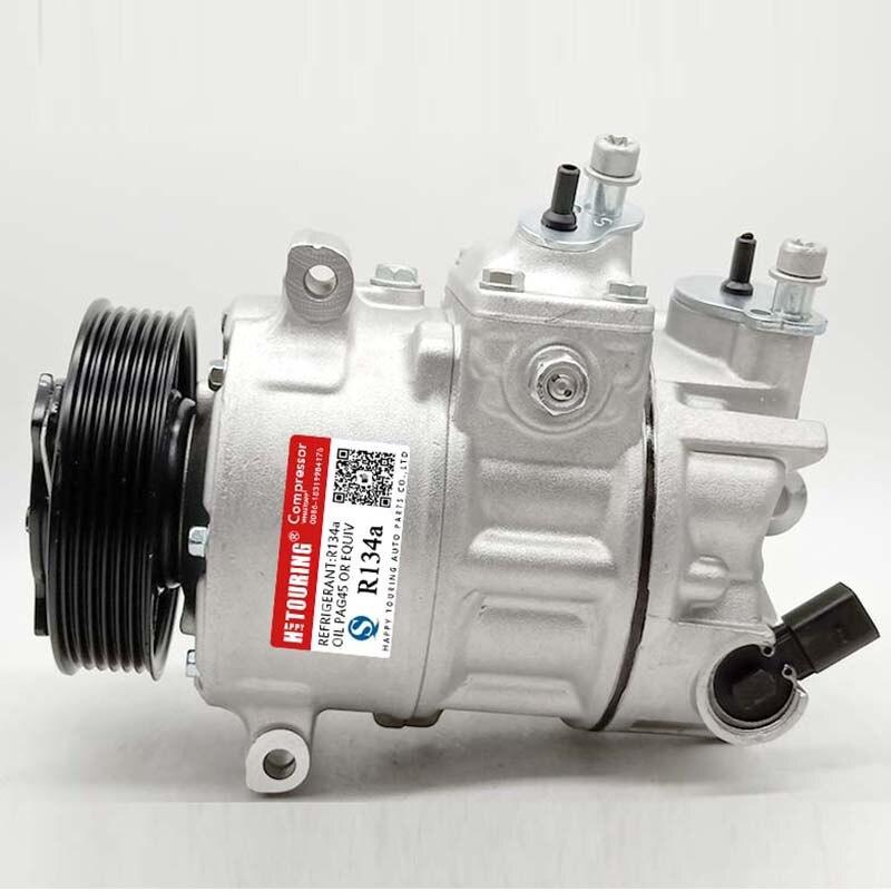 AC Compressor /& A//C Clutch For Audi A8 Quattro /& VW Phaeton 2004 2005 2006