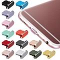 Практичная Пылезащитная крышка из алюминиевого сплава металлическая защита от пыли Зарядное устройство Док-станция Пробка крышка для iPhone X...