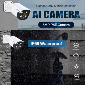 Image 5 - Techage H.265 8CH 5MP POE NVR комплект CCTV система двухсторонняя аудио AI IP камера ИК наружная Водонепроницаемая P2P Onvif видео наблюдение набор
