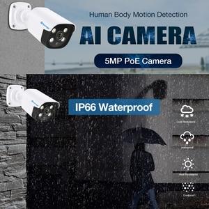 Image 5 - Techage H.265 8CH 5MP POE NVR Kit CCTV System Two Way Audio AI IP Camera IR Outdoor Waterproof P2P Onvif Video Surveillance Set