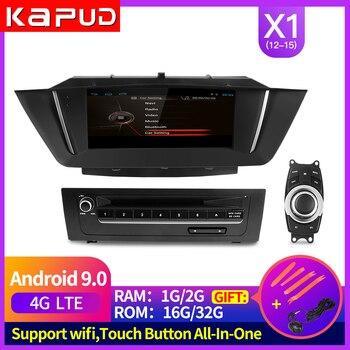 Kapud Android 9 Screen Gps Navigation For Bmw X1 E84 Multimedia 2015-2012 Car DVD Radio Player,Carplay,Idrive ,Autoradio,Usb,RAM lsqstar 8 capacitive screen android car dvd player w gps wi fi 1gb ram 8gb flash for vw