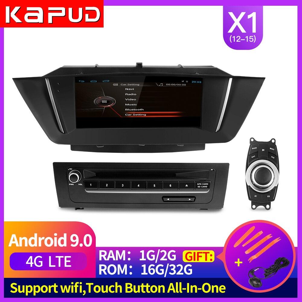 Kapud Android 9 navegación Gps de pantalla para Bmw X1 E84 Multimedia 2015-2012 reproductor de DVD para Radio y el coche... Carplay Idrive... Autoradio Usb RAM