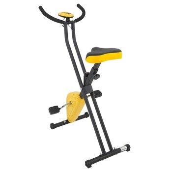 Bicicleta estática plegable de Spinning para el hogar silencioso, equipo de gimnasio magnético, entrenador de estática, máquina estacionaria de Fitness