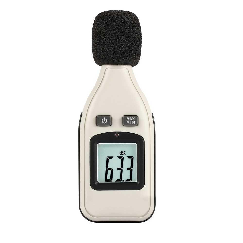 GM1351 30-130dBA цифровой Шум измеритель уровня звука 1,5 дБ точность децибельный логгер тестер измерения инструмента объем измерения инструмента