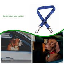 Car Dog Elastic Recoil Seat Belt Buffer Elastic Force Reflective Safety Rope Polyester Zinc Alloy Expansion Joint(China)