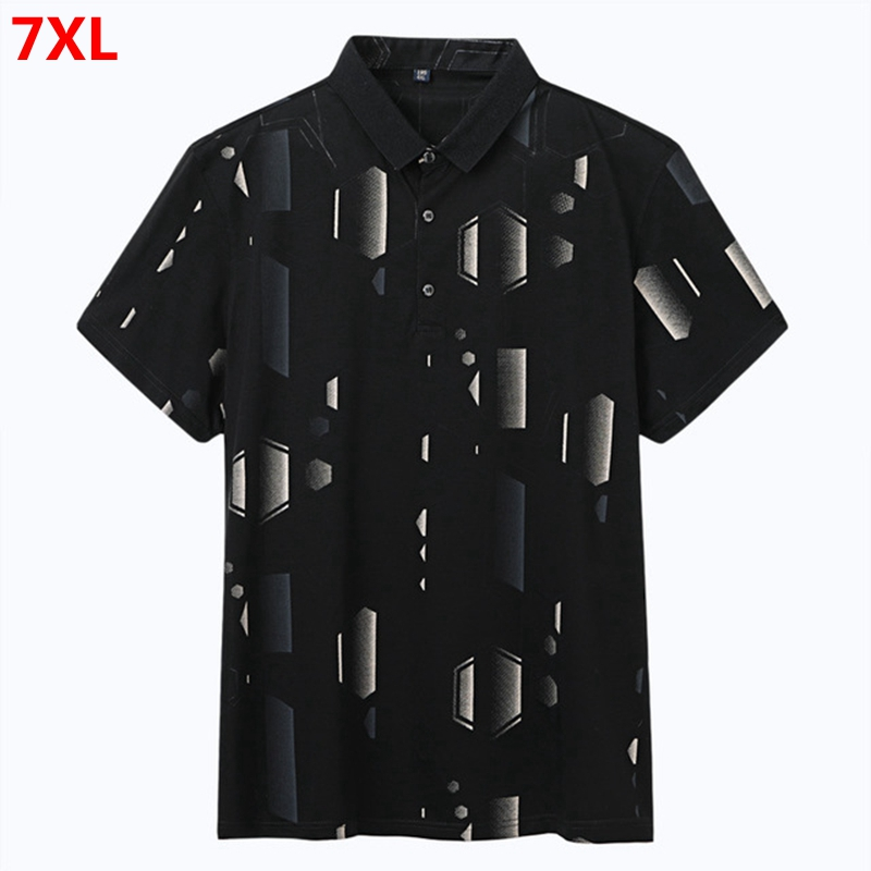 <font><b>Big</b></font> <font><b>size</b></font> Brand XL <font><b>Men's</b></font> Business Casual Summer Thin Sleeve <font><b>Polo</b></font> <font><b>Shirt</b></font> Plus <font><b>size</b></font> Extra <font><b>size</b></font> <font><b>men</b></font> <font><b>polo</b></font> <font><b>shirt</b></font> 7xl image