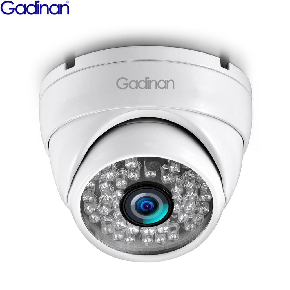 Gadinan IP Camera 3MP 1080P H.265AI Anti Vandal Dome Camera 720P Outdoor Indoor Surveillance ONVIF 2.0 48V PoE CCTV