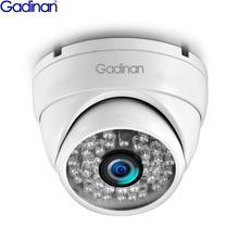 Gadinan IP Camera SONY IMX307 3MP 1080P H.265AI Anti Vandal Dome Camera 720P Outdoor Indoor Surveillance ONVIF 2.0 48V PoE CCTV