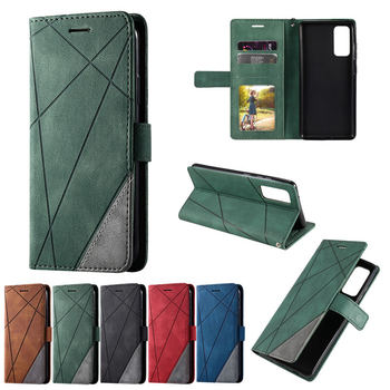 Retro Luxury Flip Case For Samsung Galaxy S20 FE 5G Card Slot Wallet Leather Business Book Cover for Galaxy S20 FE S20 F E Etui