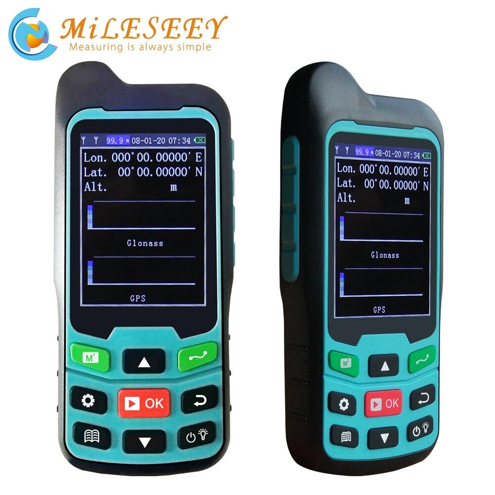 Mileseey GPS/Plough Land Meter MC8042 Handheld GPS Area Meter Tester Land Measuring Instrument Plough Navigation Land Area Meter