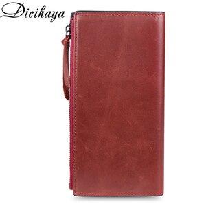 Image 2 - Dicihayaブランド財布女性レザーの女性の財布高品質の女性のクラッチ財布ロング女性の財布carteira feminina