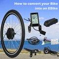 Комплект для переоборудования электрического велосипеда  Мотор заднего колеса 36В/48В 350 Вт  комплект для переоборудования Ebike 20-29 дюймов 700C USB