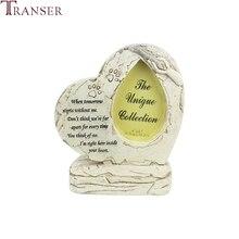 Transer товары для животных в форме сердца для щенков, кошек, собак, надгробия, сувенир для питомцев, памятник для питомцев, поставка домашних животных 9107