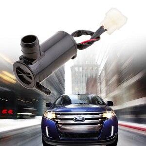 Image 5 - רכב מנוע שמשת נוזל מכונת כביסה משאבה/מנוע & גומי Grommet עבור 12V Frord פולקסווגן Jeep Kia ניסן הונדה פורד וכו אביזרי רכב