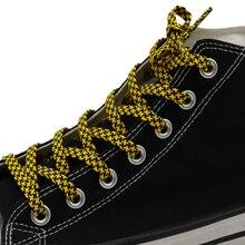 Coolstring – lacets officiels, 7MM, Double couleur, pied-de-poule, forme plate, breloques, à grille régulière, Cordons faciles à enfiler