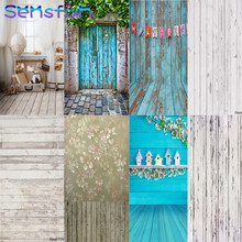 60x90cm Wood Photo Background Photophone Photography Backdrops Studio Shoots for Baby Newborn Cake Background for Camera Photo(China)