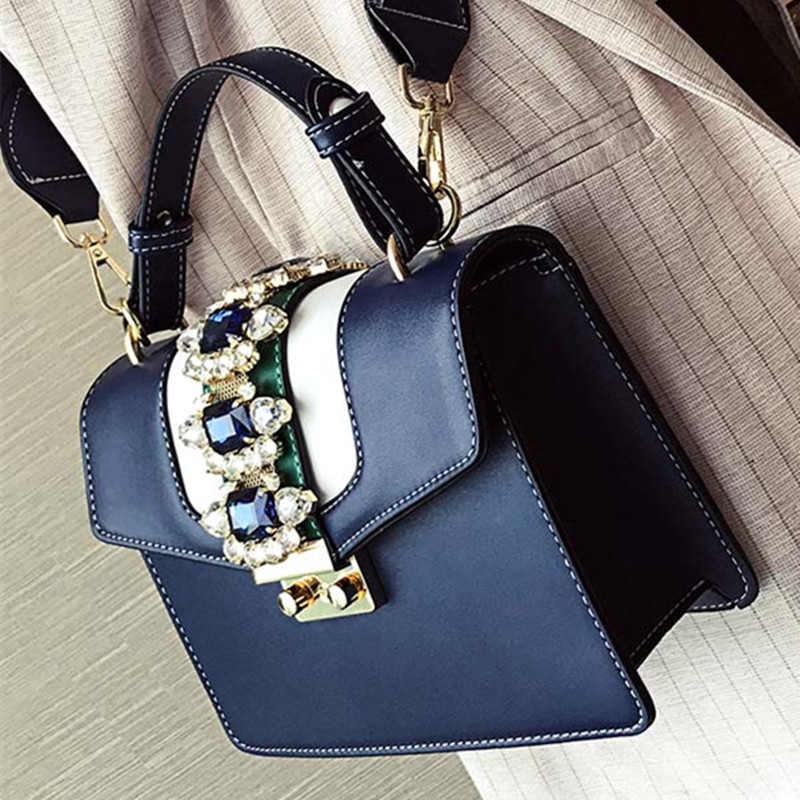 Luxury Multi Colorful Diamond Pearls
