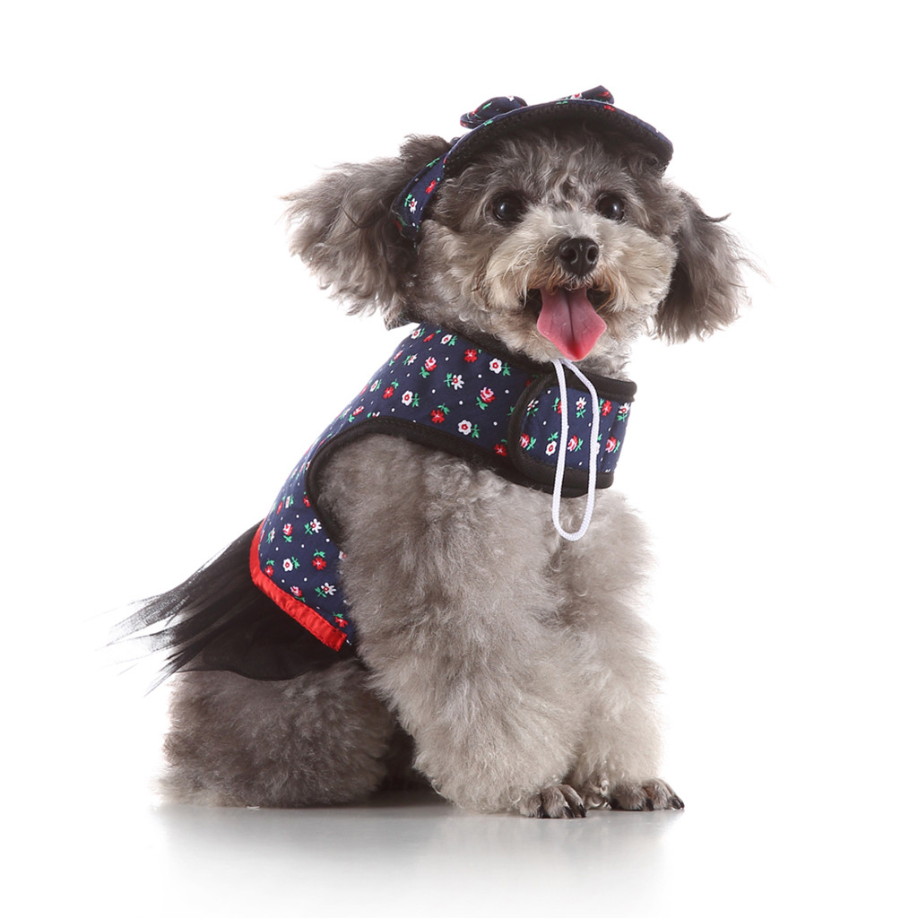 Soft Dog Harness with Leash Pet dog Plaid Fashion Vest for Walking and Training