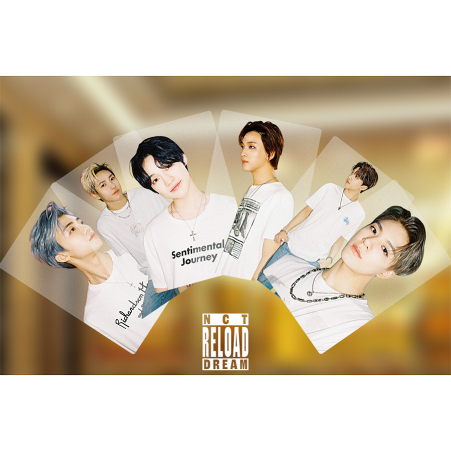 Kpop NCT DREAM The 3rd Ablum Reload PVC Clear Photo Card 2020 HD Collective Photocard Jeno Jisung