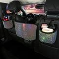 Стразы с бриллиантами, автомобильная сумка для хранения, подвесной держатель для заднего сиденья, Стайлинг, хранение порядка, аксессуары дл...