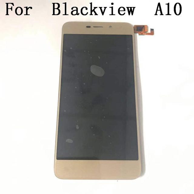 "Orijinal Blackview A10 yeni lcd ekran ekran + dokunmatik ekran Blackview A10 MT6580A dört çekirdekli 2GB RAM 16GB ROM 5 ""akıllı telefon"
