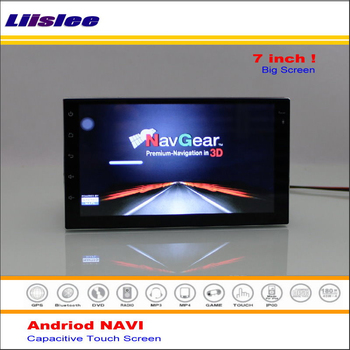 Android GPS Navigation System For Nissan Livina Urban Pathfinder R51 2006~2011 Radio Multimedia Video No DVD Player image
