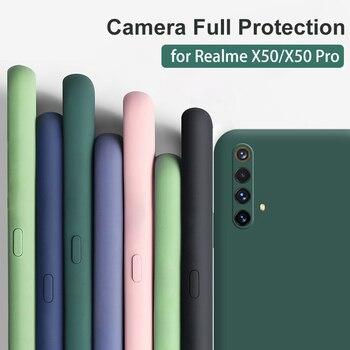 Перейти на Алиэкспресс и купить Для OPPO Realme X3 SuperZoom чехол с полной защитой силиконовый чехол для Realme X50 Pro Player 6s 6 Pro X50m Мягкий противоударный чехол