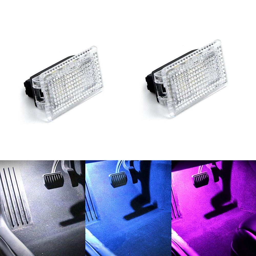 Farbige LED für Fussraumbeleuchtung