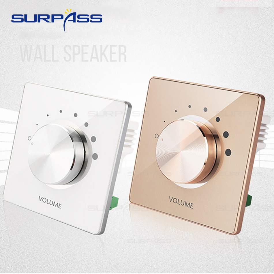 Full Hosue Tuning Switch Volume Adjust Wall Panel Easy Operation Indoor Smart Home Volume Controller