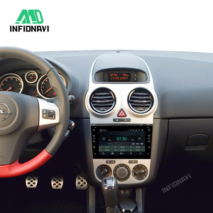 Image 5 - אנדרואיד 9.0 מולטימדיה לרכב נגן DVD לרכב רדיו ניווט עבור אופל ווקסהול אסטרה המריבה Vectra Antara Zafira Corsa עגיל