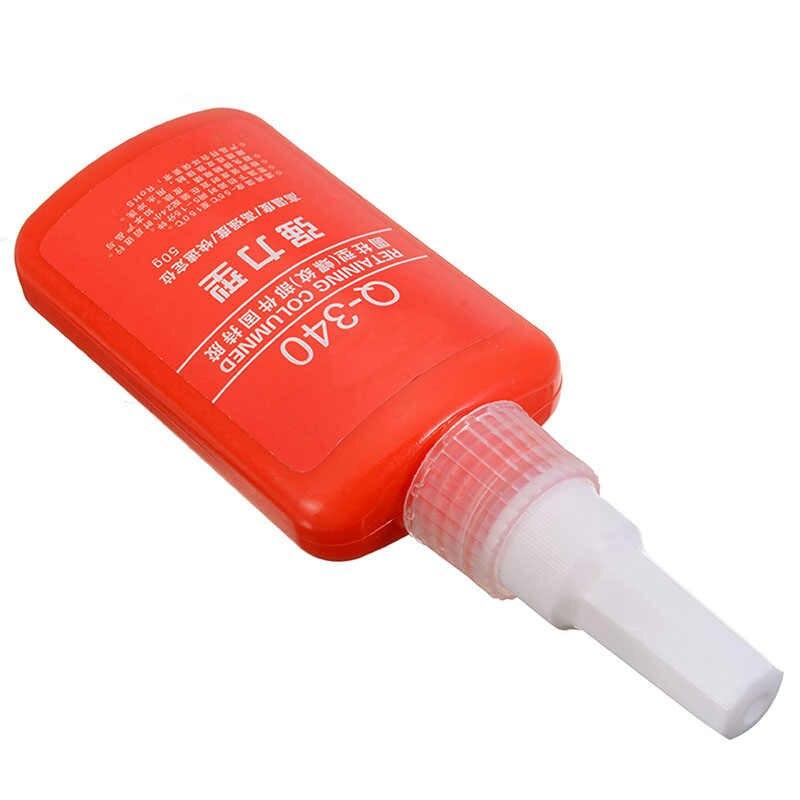 50ml resistente al calor Anti-corrosión anaeróbico adhesivo Threadlocker Multi-funcional sellado roscada tuercas Metal Lock pegamento líquido