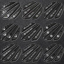 4 Uds coche puerta Protección de fibra de carbono pegatina cartel de automóvil para Cadillac Elvis ATS CTS STS SRX 2005 2011 XT4 XT5 carro XLR XTS BLS
