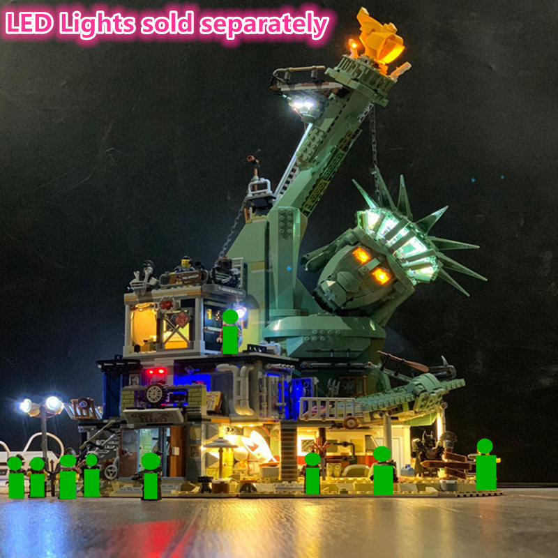2019 NEW LED Light For APOCALYPSEBURG Compatible <font><b>70840</b></font> Building Blocks Kit Bricks Classic Big Movie 2 Model Toys 45014 image