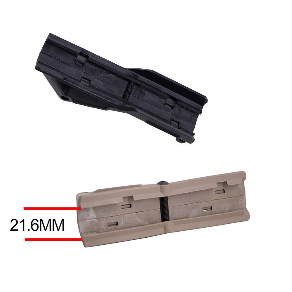 Cho AR15 M4 Jinming 8 Súng Bắn Khí Airsoft Gel Blaster Chiến Thuật Nylon Cầm Tay Cầm Bóng Sơn Phụ Kiện Phù Hợp Với Cho Keymod Handguard /Đường Sắt