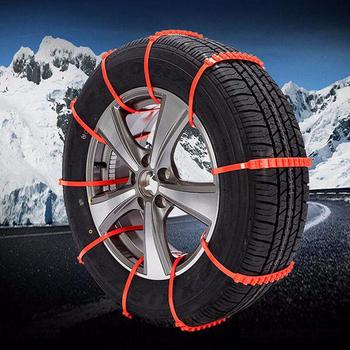 10 sztuk samochodów opony zimowe łańcuchy śniegowe na koła opona zimowa Anti-łańcuchy antypoślizgowe opony kabel pas zima na zewnątrz łańcuch awaryjny tanie i dobre opinie SPEEDWOW 87 5cm 0 32kg 00cm Universal Wheels Anti-skid Car Snow Tire Anti-skid Chains Anti-Skid Autocross Outdoor 10PCS