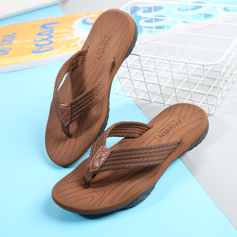 Men Flip Flops Summer Breathable Sandals Shoes For Men Non-slip Rubber Soles Slippers Fashion Outdoor Casual Shoes Big Size 47 3
