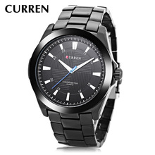 PopularNew fashion men's watch waterproof quartz men's watch steel band watch business leisure Watch white ceramics band design mens leisure watch
