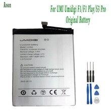 Roson Batería Para UMI Umidigi S3 Pro F1 F1 Play, 5150mAh, 100% nuevas piezas de repuesto, accesorios para teléfono, acumuladores con herramientas