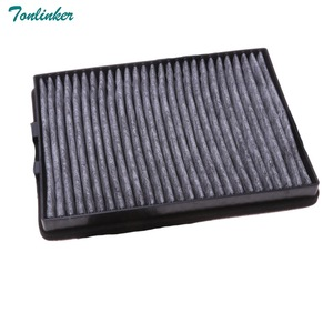 Image 2 - 2 Pcs Cabin Filter For Bmw E39 520i 523i 525i 528 530i 535 i540i 1995  2002 2003 2004 High Quality Carbon Fiber Car accessories