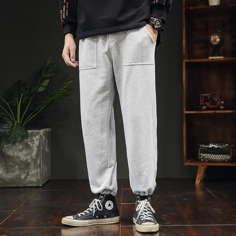 2019 Autumn Men Versatile Korean-style Loose-Fit Popular Brand Beam Leg Casual Pants Ds565tp48